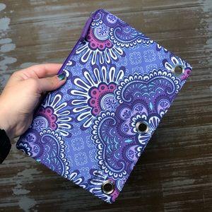 Vera Bradley Lilac Tapestry Pencil Case
